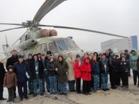 Экскурсия в вертолетный полк
