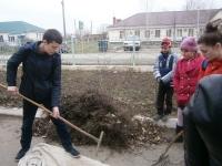 В  школе прошли мероприятия в рамках акции Час Земли