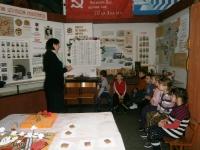 Воспитанники детского сада «Солнышко» посетили музей школы